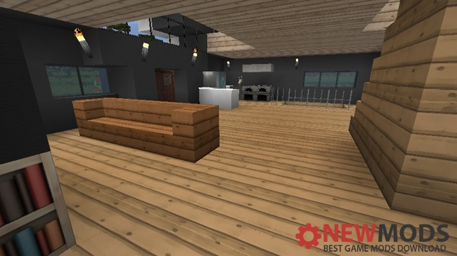 Photo of Minecraft – Modern House Creation Map