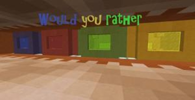 Photo of Minecraft – Would You Rather Game Map