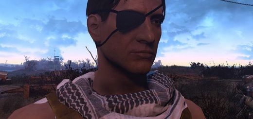 CROSS-Eyepatch-and-Horn-fallout4mods