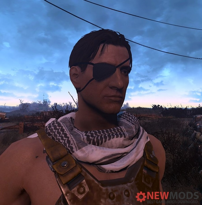 Photo of Fallout 4- CROSS Eyepatch and Horn