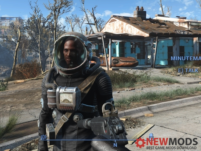 Photo of Fallout 4 – Clear Hazmat Helmet