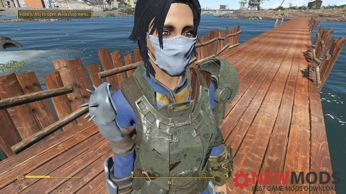 Photo of Fallout 4 – Light Blue Surgical Mask Retex