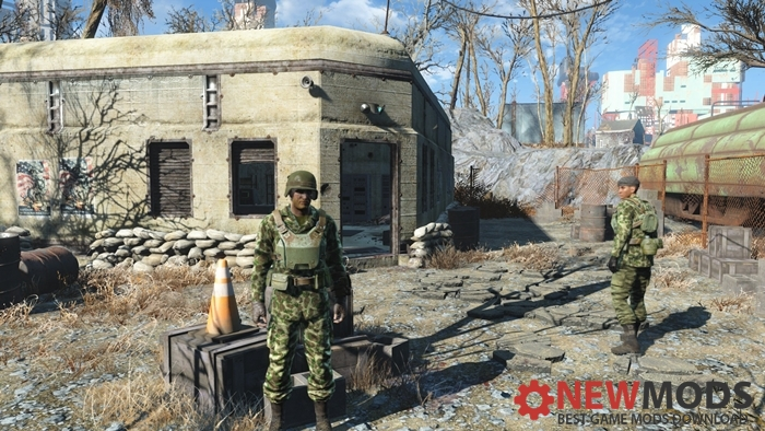 m42-duck-hunter-army-and-dirty-army-fatigues-fallout4mods
