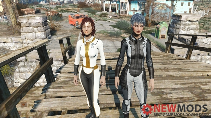 Photo of Fallout 4 – Post-war Vault Suits (changeable textures)