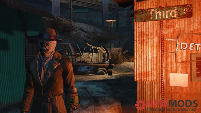Photo of Fallout 4 – Rorshach mask