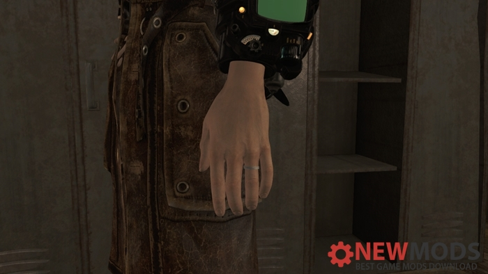 fallout silver wedding ring retex new pc game modding