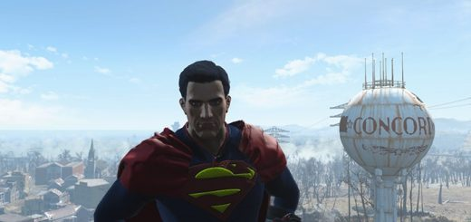 Superman-Outfit-fallout4mods
