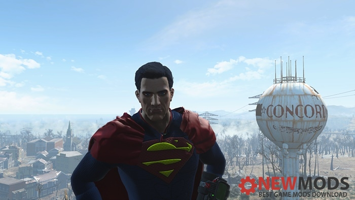 Photo of Fallout 4 – Superman Outfit