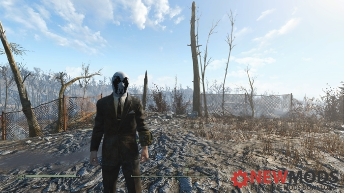 Photo of Fallout 4 – Watchmen rorschach mask