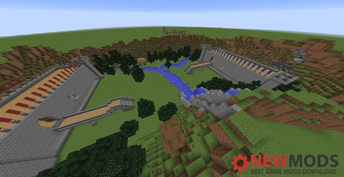 Photo of Minecraft – Castle Wars PVP Map
