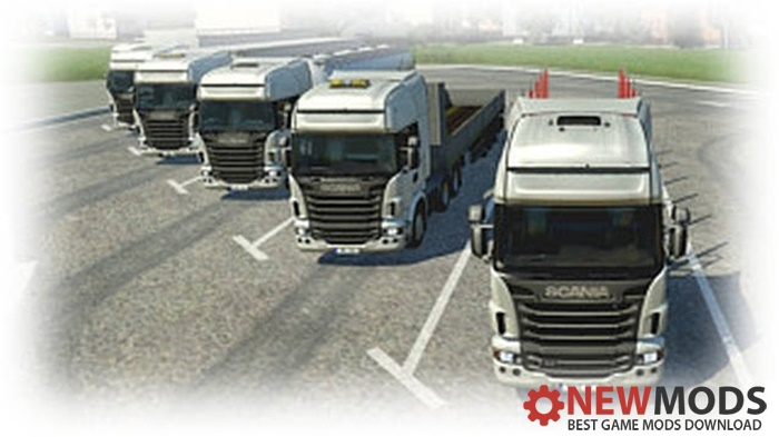 Photo of Transport Fever – DMA 40t Trucks & Trailers – Scania R480