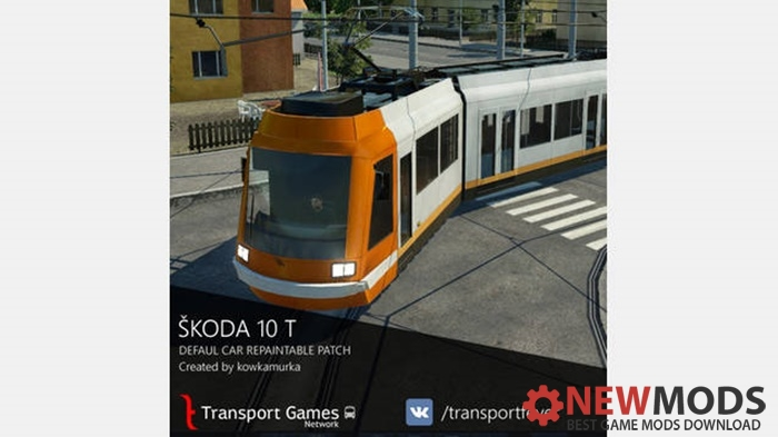 Photo of Transport Fever – Škoda 10T Repaintable Patch