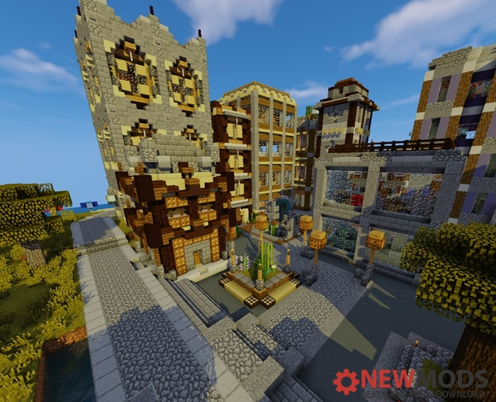Photo of Minecraft – Valcour City Map