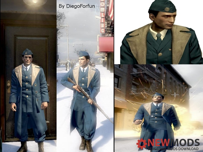 Photo of Mafia 2 – U.S. Air Force Officer Winter Coat