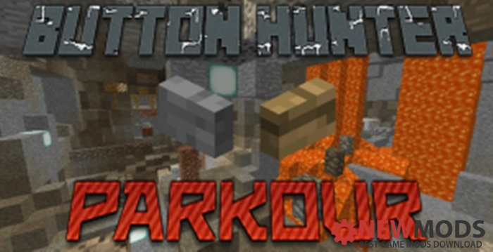 Photo of Minecraft – Button Hunter Parkour Map