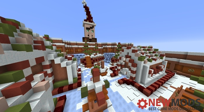 Photo of Minecraft – Christmas Ornament Hunt Finding Map