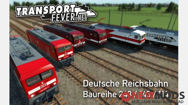 Photo of Transport Fever – DR Baureihe 243 / 143 / 114