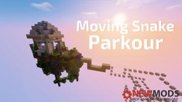 Photo of Minecraft – Moving Snake Parkour Map