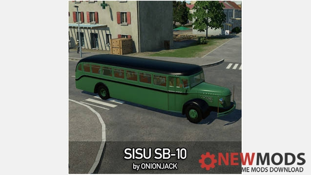 Photo of Transport Fever – Sisu SB-10 Bus