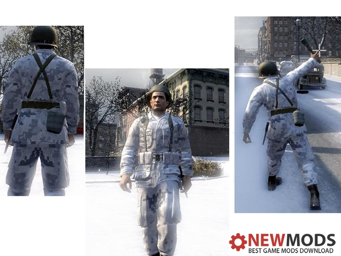 Photo of Mafia 2 – U.S. Army Snow Camo