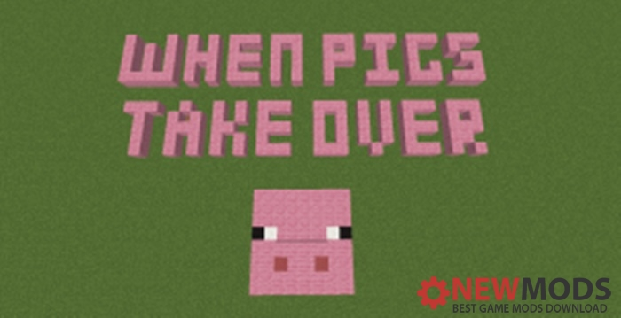 Photo of Minecraft – When Pigs Take Over Adventure Map