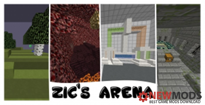 Photo of Minecraft – ZICS Arena PVE Map