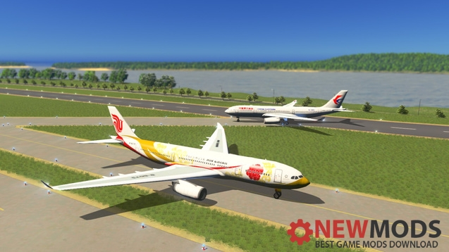 Photo of Cities Skylines – Air China A330-200 B6075