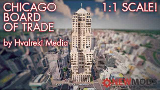 Photo of Cities Skylines – (1:1) Chicago Board of Trade Building