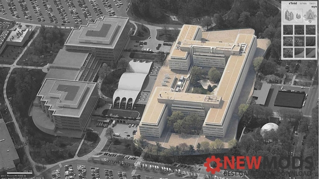 Photo of Cities Skylines – ELVIS George Bush center for intelligence-A part (CIA HQ) – RICO