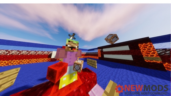 Photo of Minecraft – Command Block Wipeout Parkour Map