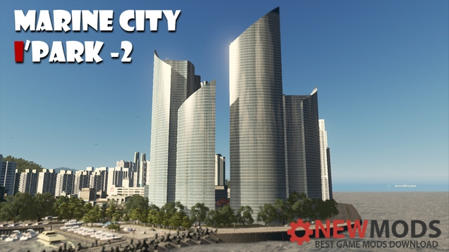 Photo of Cities Skylines – Marine City I'Park-Ⅱ (1:1)