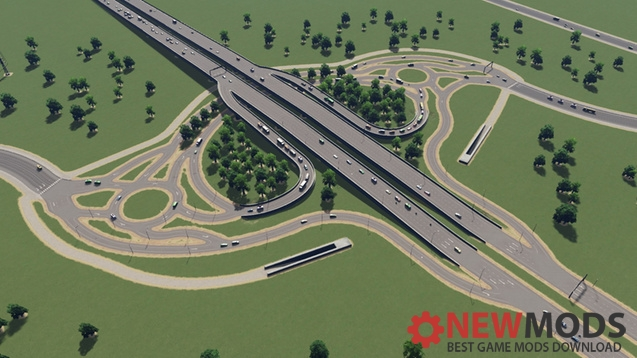 Photo of Cities Skylines – Organic Interchange