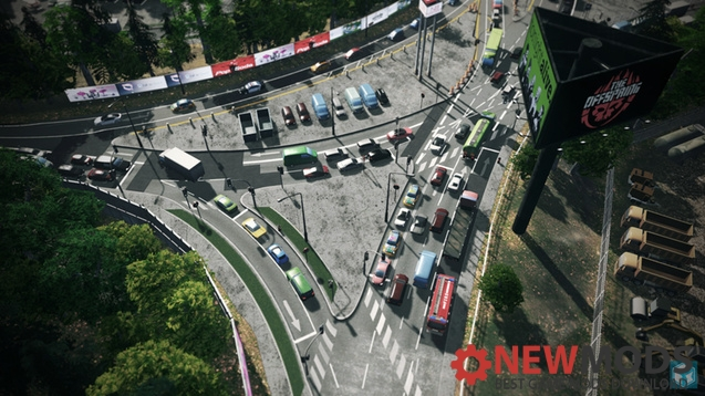 Photo of Cities Skylines – xJunction HWY End-Solution(Decal Lines are included)