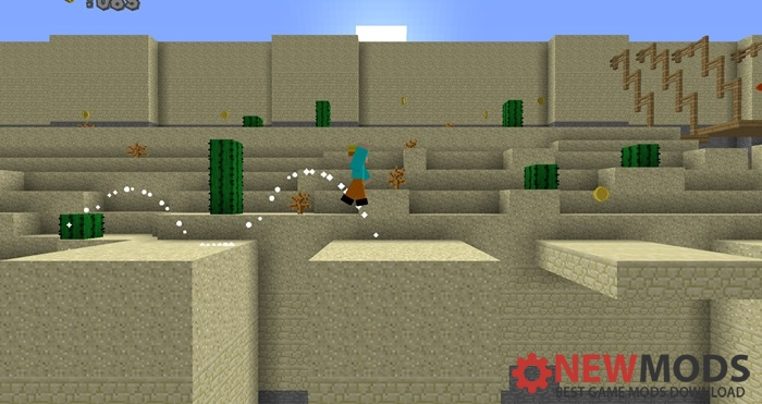 Photo of Minecraft – 2D Run Parkour Map