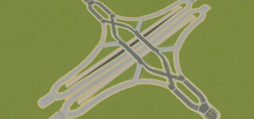Diverging-Diamond-Interchange
