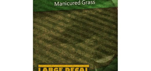 Manicured Grass Decal