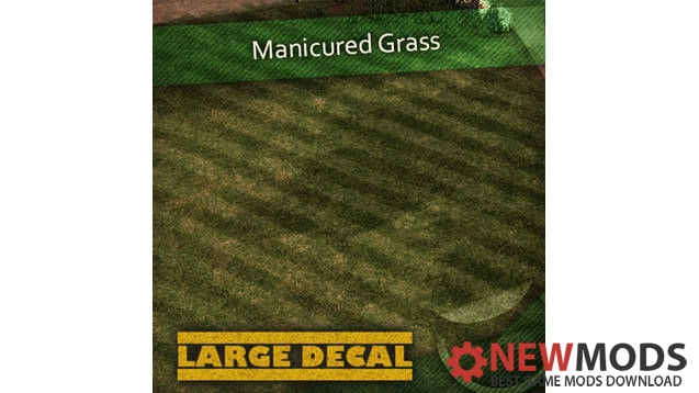 Photo of Cities Skylines – Manicured Grass Decal