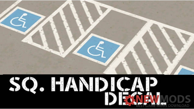 Photo of Cities Skylines – Square Handicap Parking Decal