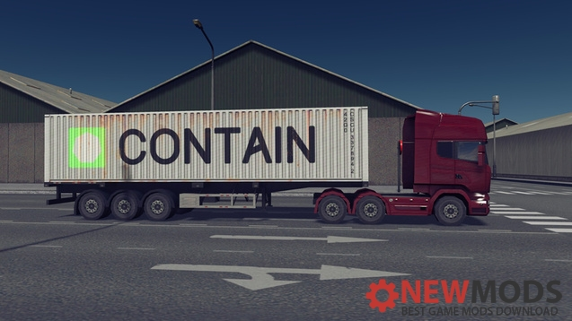 Photo of Cities Skylines – EU container trucks – Pack 4