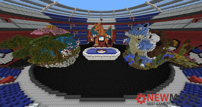 Photo of Minecraft – Pokemon Red Game Map