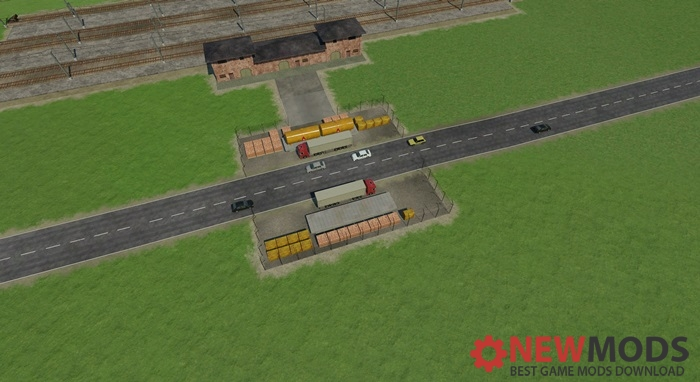 Photo of Transport Fever – Road Cargo Stations Mod