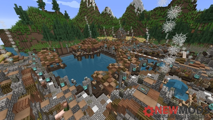 Photo of Minecraft – Rustic Valley Creation Map