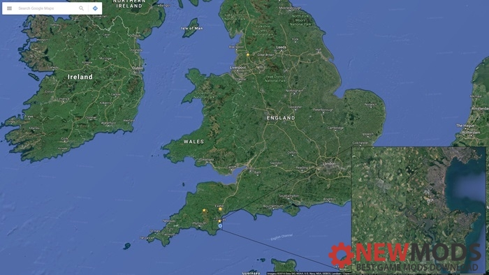 Photo of Transport Fever – South Devon, UK. Industry Generated Map