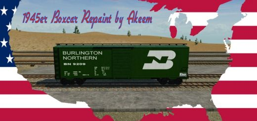 boxcar-1945-burlington-northern