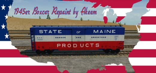 boxcar-1945-state-of-maine