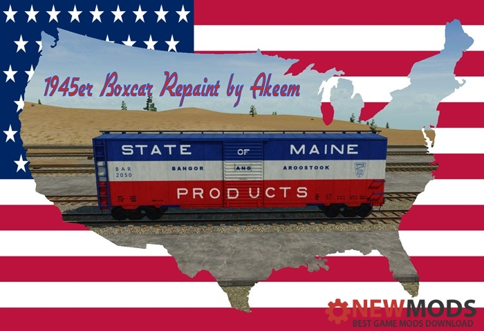 Photo of Transport Fever – Boxcar 1945 – State of Maine