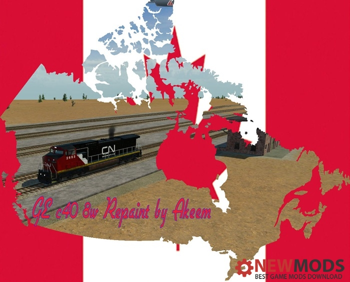 Photo of Transport Fever – GE C40 8W – Canadien National