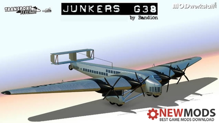 Photo of Transport Fever – Junkers 38 G