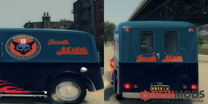Photo of Mafia 2 – Milk Truck Hangar 13 Edition