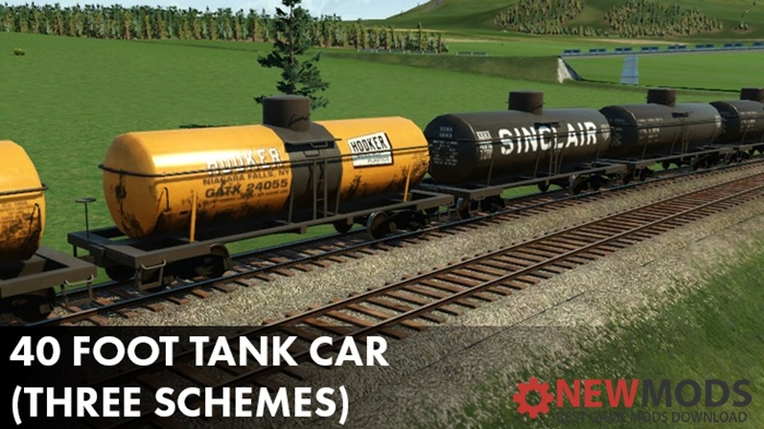 Photo of Transport Fever – 40 Foot Tank Cars